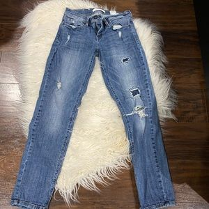 """Eunina Low Rise Cropped jeans Skinny 25"""""""